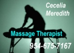 954-675-7167 Licensed Massage Therapist