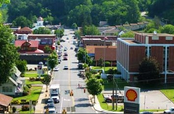 City North Carolina Unique Among Mountain Communities