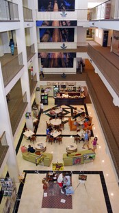 food court in hickory furniture mart hickory nc