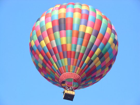 Western North Carolina hot air balloons