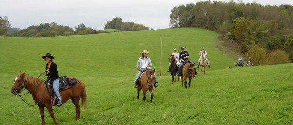 Western North Carolina horseback riding
