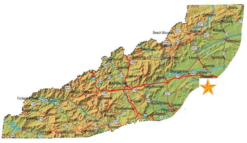 Bryson Nc Map.Bryson City North Carolina
