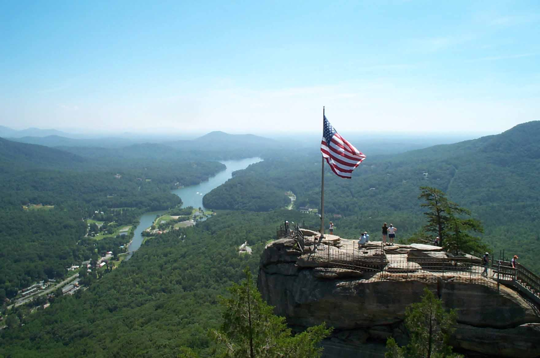 chimney rock Chimney rock read about the views, the hiking trails, and the other various things that help to make chimney rock park such a popular north carolina attraction.